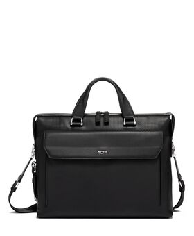 Porte-documents slim en cuir Halls Ashton