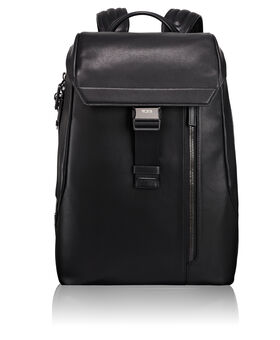 Dresden Flap Leather Backpack Ashton