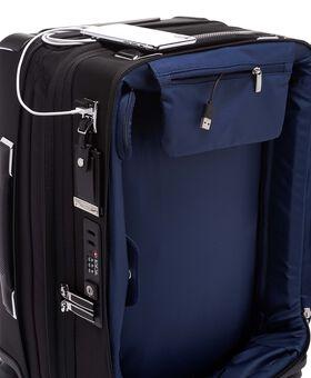 Bagage à main slim à 4 roues et double accès pour voyage à l'international Arrivé