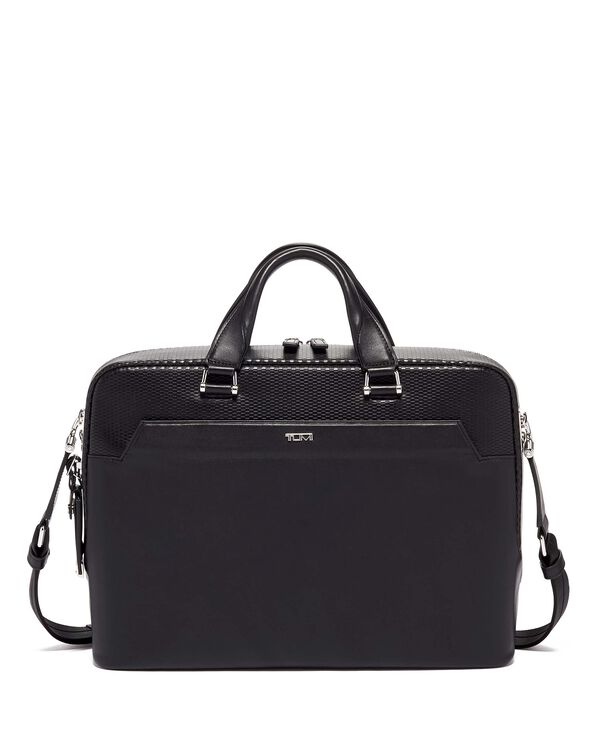 Ashton Porte-documents en cuir Slim Gibson