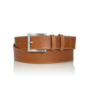 "Double Keeper Leather Belt 42"" Belts"