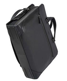 Benton Leder-Aktentasche mit Doppelreißverschluss Ashton