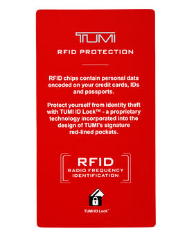 TUMI ID Lock™ Portefeuille à volet central pour pièces d'identité Global Alpha