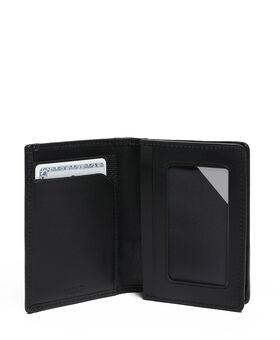 Kartenetui mit Seitenfalte Alpha