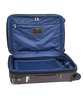Gatwick International Expandable Leather Carry-On Arrivé