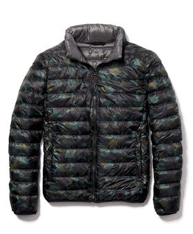 Patrol Reversible Packable Travel Puffer Jacket M TUMIPAX Outerwear