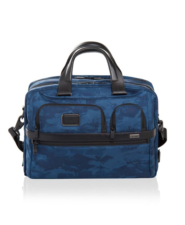 Alpha 2 Expandable Organizer Laptop Brief