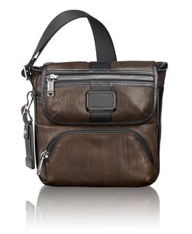 Barton Leather Crossbody Alpha Bravo