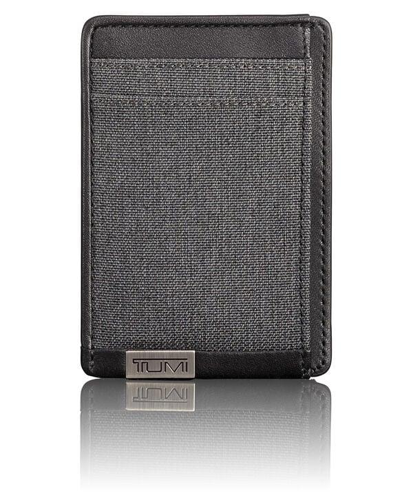 Alpha TUMI ID Lock™ Porte-cartes avec clip pour billets de banque